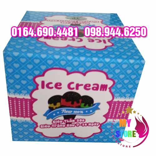Ice cream body whitening 1