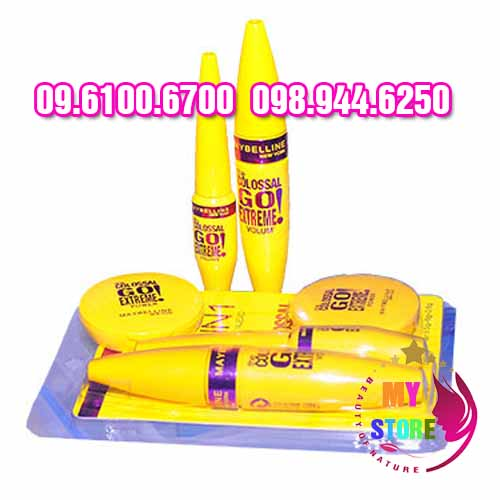 Bộ trang điểm maybelline 3in1-3