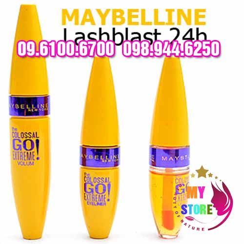 Bộ trang điểm maybelline 3in1-4