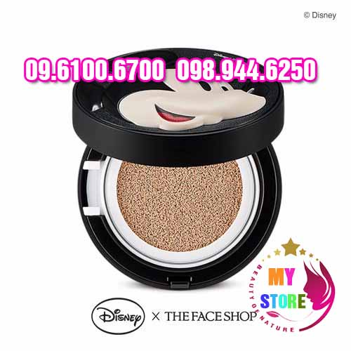Phấn nước disney the face shop-2