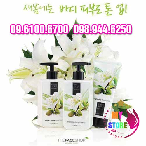 Whitening body the face shop-1