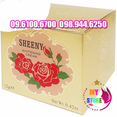 kem sheeny whitening cream