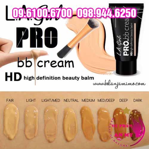 Kem Nền LA Girl Pro BB Cream-3