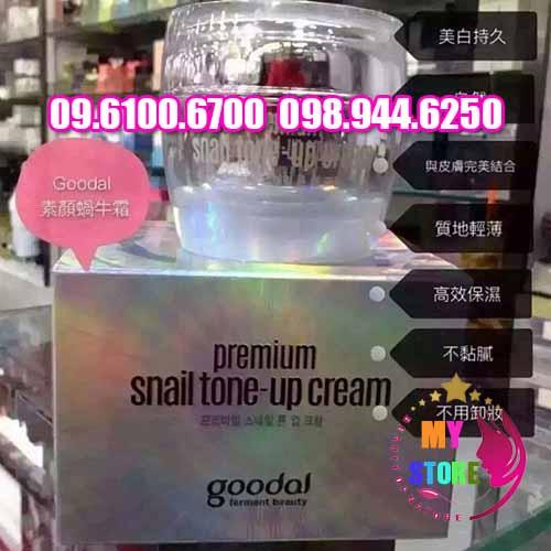 kem Premium Snail Tone Up Cream-3