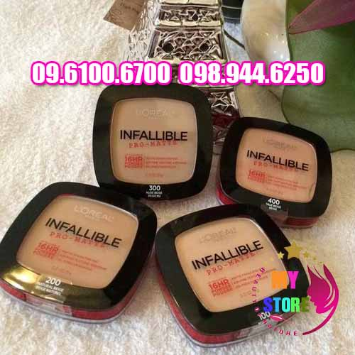 Phấn Phủ Loreal Infallible 2 tầng-3