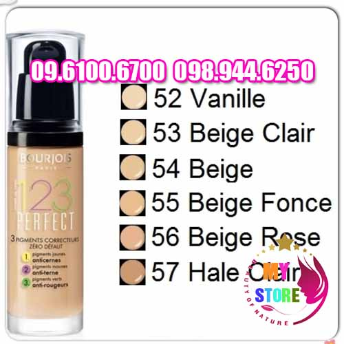 bourjois 123 perfect foundation