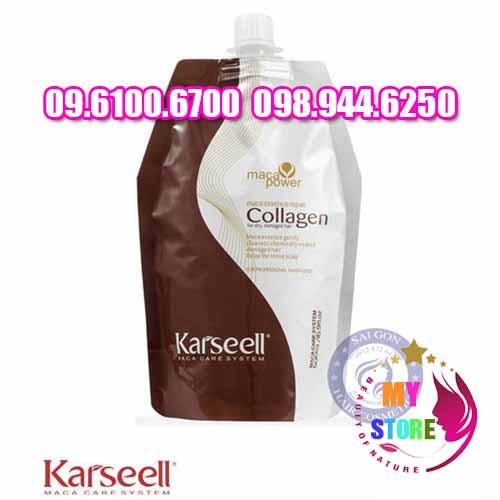 Kem hấp collagen karseell maca
