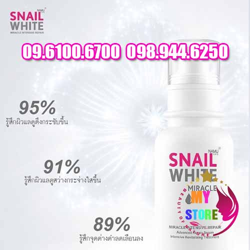 Snail white serum pantip-3