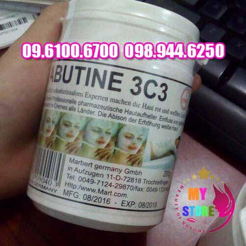Bột kích trắng abutine 3c3-1