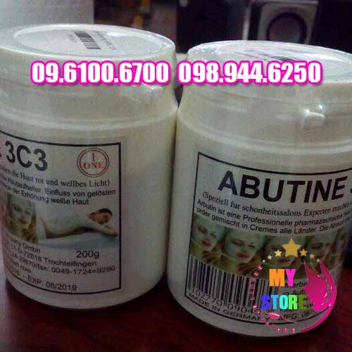 Bột kích trắng abutine 3c3-2