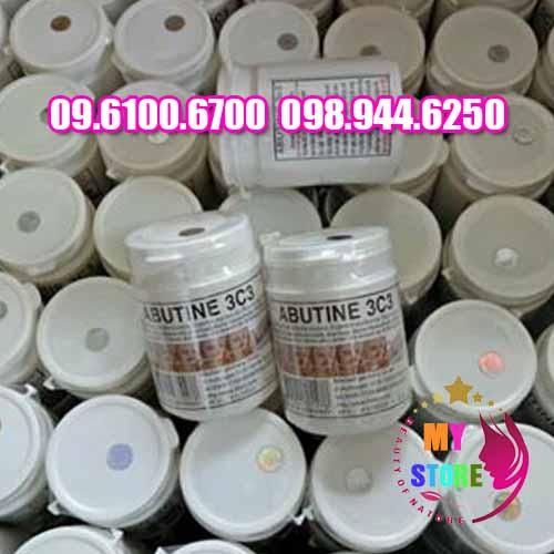 Bột kích trắng abutine 3c3-3