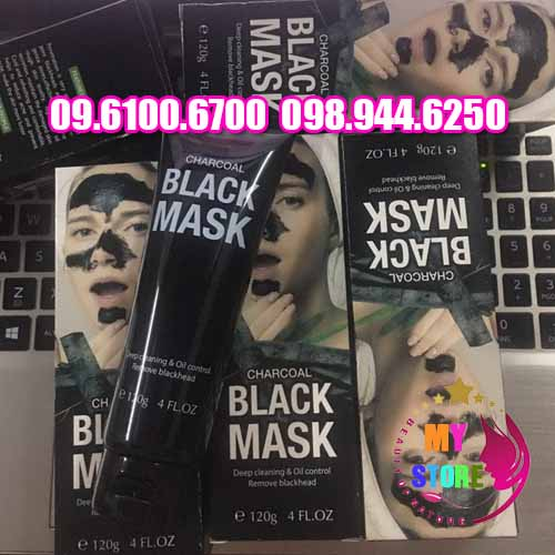Gel lột mụn black mask-1