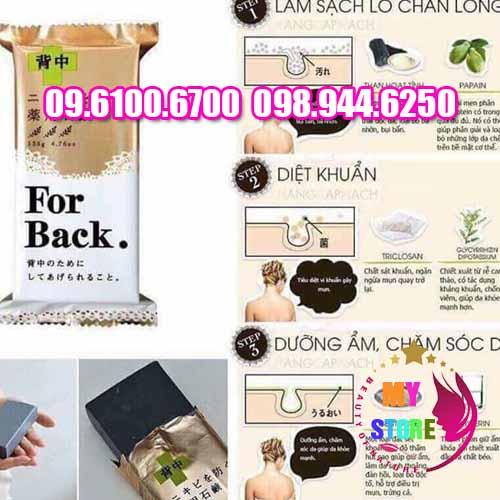 Xà phòng trị mụn lưng for back medicated soap-1