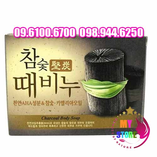 Charcoal body soap