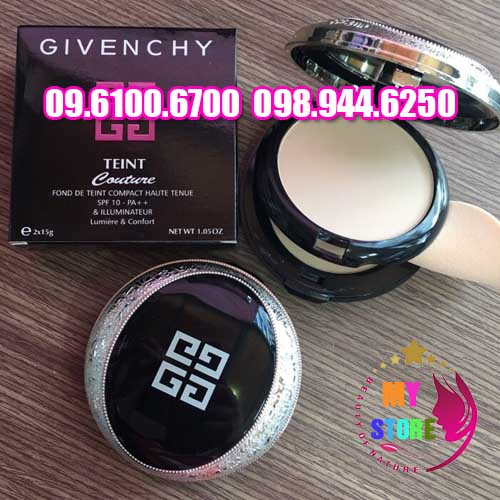 Phấn givenchy 2 tầng