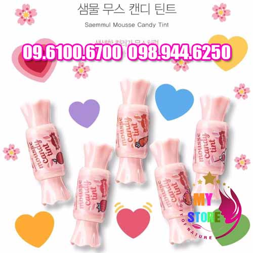 SON THE SAEM MOUSSE CANDY TINT-2