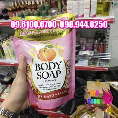 TẮM TRẮNG BODY SOAP NHẬT BẢN-3