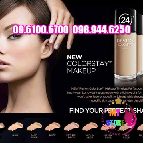 Kem nền Revlon Colorstay Makeup 24H-3