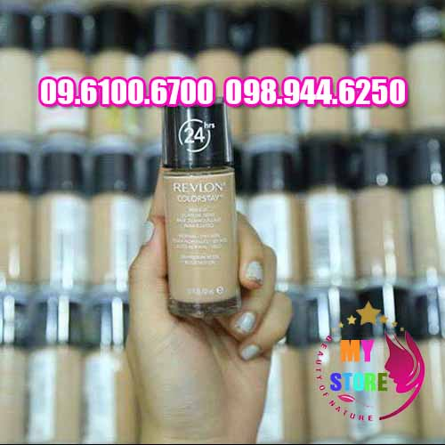 Kem nền Revlon Colorstay Makeup 24H chính hãng an toàn nhập khẩu