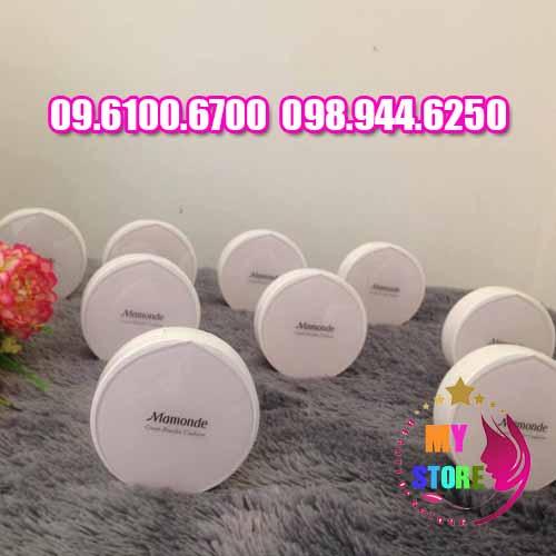 phấn mamonde cover powder cushion-3