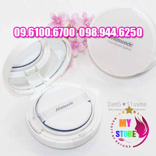 phấn mamonde cover powder cushion