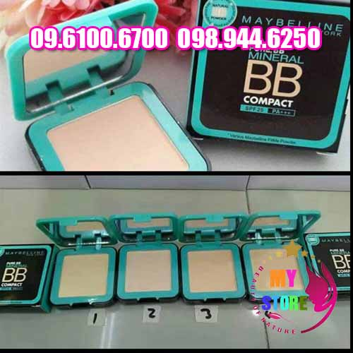 Kem nền Maybelline pure bb mineral compact-1