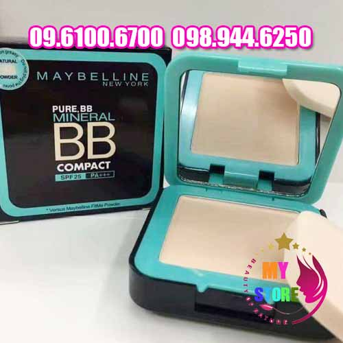 Kem nền Maybelline pure bb mineral compact-3