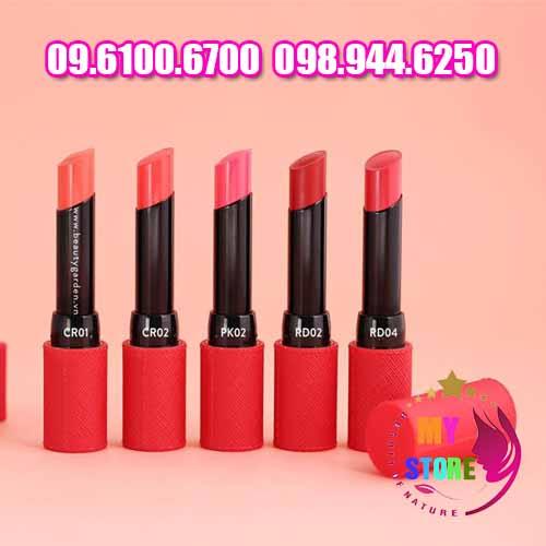 Son The SAEM Kissholic Lipstick S nhập khẩu chính hãng