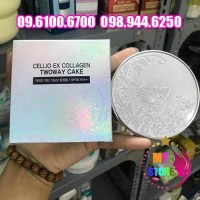 Phấn Phủ Cellio Ex Collagen Twoway Cake-1