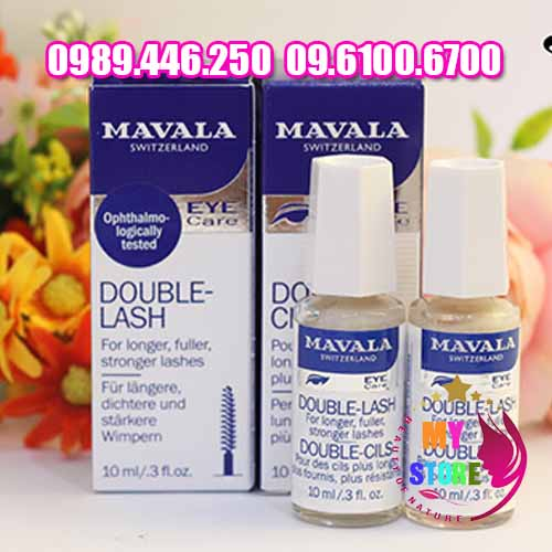 Serum dưỡng mọc mi mavala eye care double lash-1