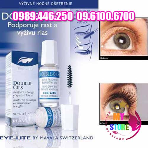 Serum dưỡng mọc mi mavala eye care double lash-4