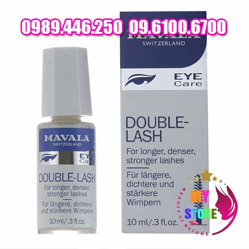 Serum dưỡng mọc mi mavala eye care double lash