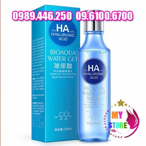 Xịt khoáng BIOAQUA water get hyaluronic acid