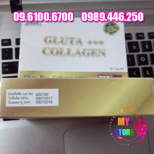 VIÊN UỐNG TRẮNG DA GLUTA PLUS COLLAGEN 2000++ Thái Lan-2