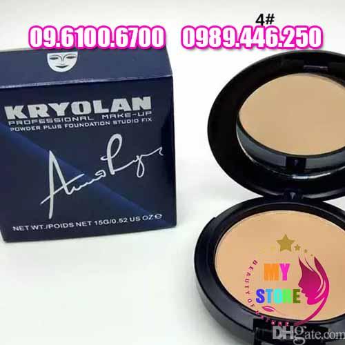 Phấn 2 tầng Kryolan Professional Make-Up-4