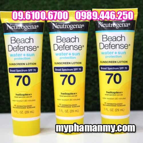 chống nắng neutrogena beach defense