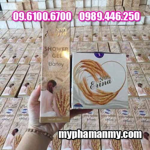 Tắm trắng lúa mạch erina-2